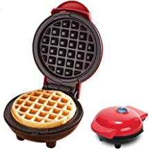 Mini Waffle Maker Machine, Electric Non Stick Egg Waffler Machine,for Individual Waffles, Hash Browns,Paninis, Other on Th...