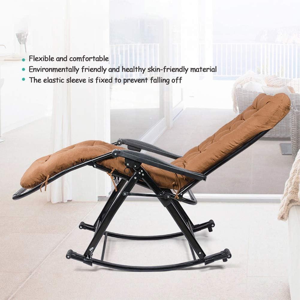 LRKZ Fauteuils Inclinables Pliants Réglables Zero Gravity, Choix Produits Chaise de Patio Inclinable Salon Intérieur/Extérieur pour Le Camping,Gray b Red