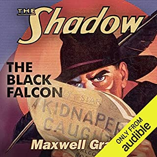 The Black Falcon audiobook cover art