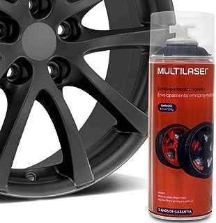 Spray de Envelopamento Liquido Emborrachado Grafite 400ml Multilaser - AU429
