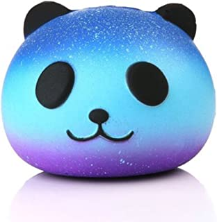 BRIDA® Slow Rising Squishy Toys Fidget Toys Cute Squishies Squeeze Stress Reliever for Girls / Kids / Adults (Starry Panda)
