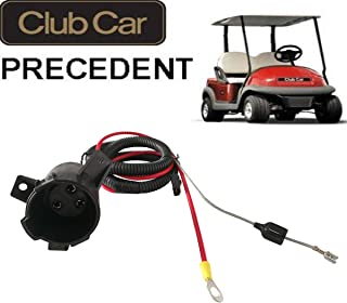 No. 1 accessories 48V Charger Cord Plug & Charger Receptacle for Club Car DS Precedent Golf Carts 1995 Up, 101828901, 101802101, 103375501