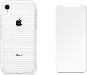 OtterBox Ultra Slim Clear Pattern Case for iPhone XR (ONLY) with Screen Protector - Scratch Resistant - Retail Packaging - Clear