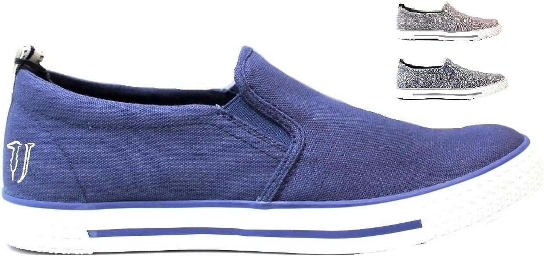 Trussardi Jeans 77S519 Slip On Herren 41  | Elegant Und Würdevoll