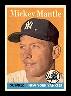 mickey mantle topps 150