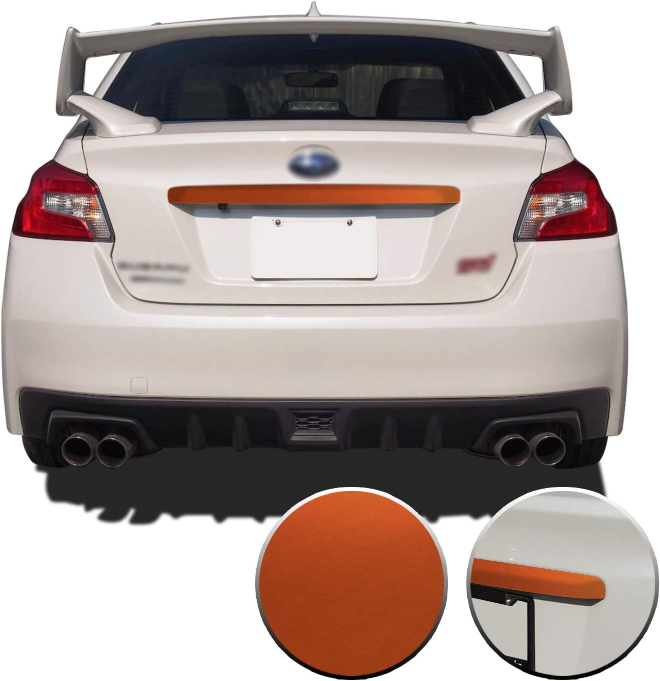Gomu Trunk Trim Accent Surprise price Vinyl Save money Compatible Wrap with Decal Overlay