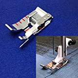 sewing machine husqvarna viking - YEQIN 1/4 Edge Stitching Foot for Viking Husqvarna Sewing Machine 4129141-45