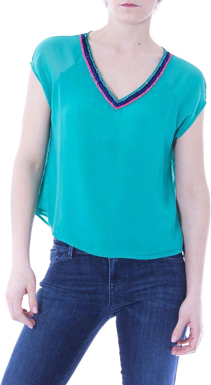 Gaudì Women's 73FD45246GREEN Green Polyester TShirt