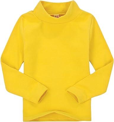 CuteOn Niños para niños   Cuello Alto   De Manga Larga   algodón   De Camisetas, Tops, tee Shirt