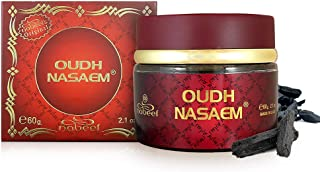 Nabeel Perfumes Oudh Nasaem Incense Solid Perfume For Unisex, 60 gm