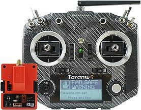 FrSky Taranis Q X7s Access 2.4GHz 24CH Mode2 Hall-Sensor Gimbals Transmitter with R9M 2019 Long Range Module - Carbon Fiber