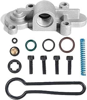 6.0 Blue Spring Kit Upgrade Powerstroke Fuel Pressure Regulator Kit Fits 2003 2004 2005 2006 2007 F250, F350, F450, F550 Replaces # 3C3Z-9T517-AG 3C3Z9T517AG