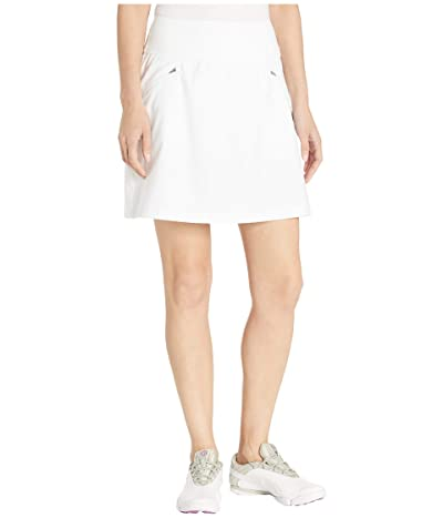 PUMA Golf PWRSHAPE 18 Skirt (Bright White) Women
