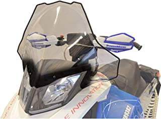 Cobra Windshield - 20in. - Clear with Black Fade 2014 Ski-Doo Renegade Backcountry X E-TEC 800R Snowmobile