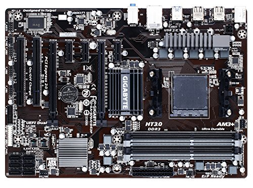 Gigabyte GA970AS3P - Placa base AMD 970/SB950, 4DDR3, 2-CH/H
