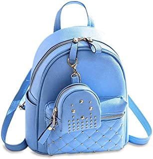 JSPM® Women BackPack With Beautiul Blue Color Casual Backpak (SP-083 Blue)