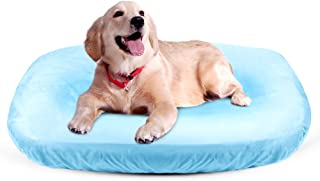 JoicyCo Dog Bed Cover Pet Bed Covers Convenient Case 100% Washable Scratch Proofing Anti-Slip Bottom,Universal to Majority Dog Beds 4 Color S-XXL