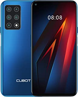 comprar comparacion CUBOT X30 Smartphone, 4G Teléfono Móvil, 6 GB RAM + 128 GB ROM, pantalla HD + de 6,4 pulgadas, 4200 mAh, cinco cámaras, Du...