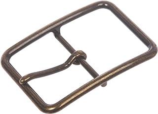 مشبك حزام مستطيل أحادي الشق (38 ملم) من النيكل بمقاس 1 1/2 بوصة (38 ملم)