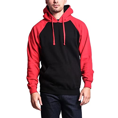 latest selection outlet store sale pretty and colorful Red Black Men's Hoodie: Amazon.com