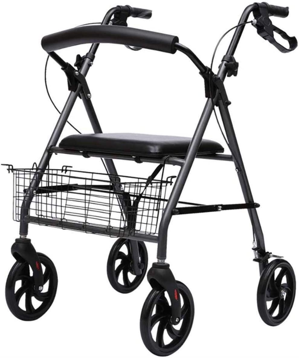 Walking Frame Phoenix Mall Mobility Aid for Adult Folding 4 rollator - Walker Omaha Mall