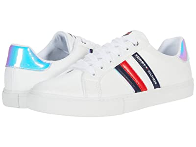 Tommy Hilfiger Lawsons (White/Navy/Red/Blue Multi) Women