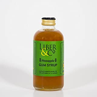 Liber & Co. Pineapple Gum Syrup (9.5 oz)