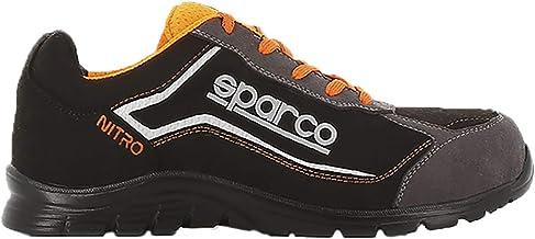 Sparco 00126341NRBI Zapatillas SL-17 Blanc Noir Taille 41