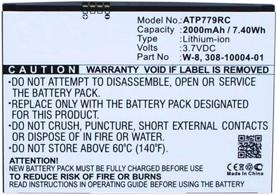 W-7 2000mAh replacement battery spare subtel/® Premium Battery compatible with Netgear AirCard 779S 810S 790S
