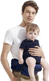 Bebamour Lightweight Baby Toddler Hip Seat Carrier Baby Waist Seat (Dark Blue)