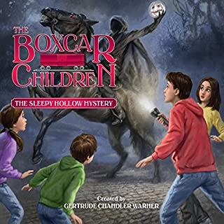 The Sleepy Hollow Mystery     The Boxcar Children Mysteries, Book 141              Written by:                                                                                                                                 Gertrude Chandler Warner                               Narrated by:                                                                                                                                 Aimee Lilly                      Length: 1 hr and 39 mins     1 rating     Overall 3.0