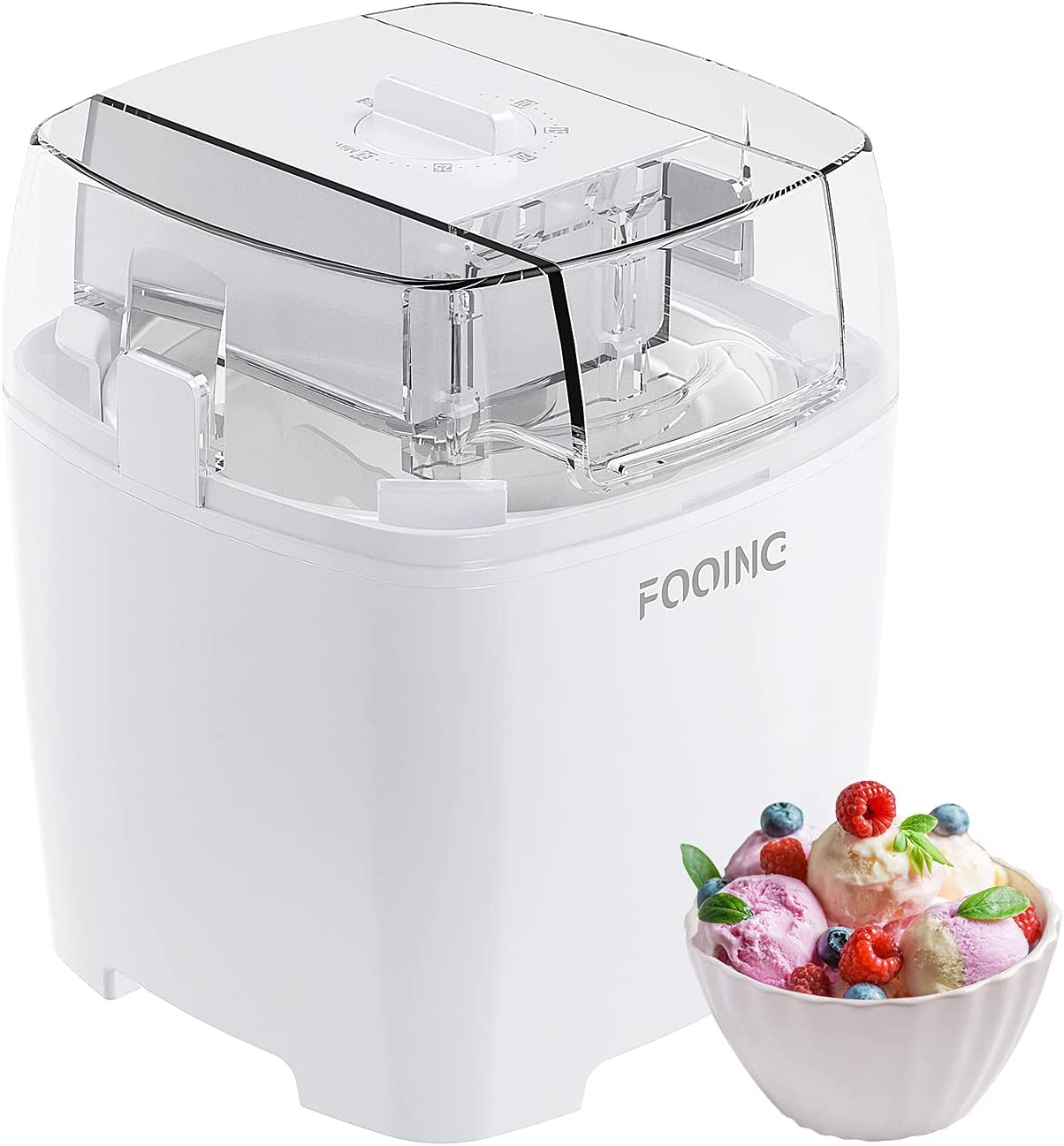 FOOING Ice Cream Makers Countertop Homemade Award-winning store Machine Tucson Mall