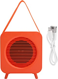 $33 » KUIDAMOS Orange Outdoor Speaker, 100Hz-18KHz Professional Stylish Cute Portable Wireless Speaker, Wireless Music Speaker f...