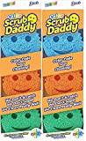 Scrub Daddy Colors - FlexTexture Sponge, Soft in Warm Water, Firm in...
