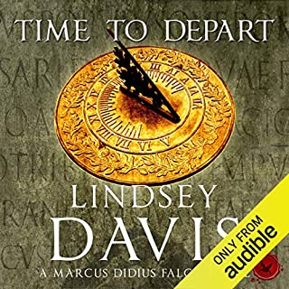 Time to Depart     Falco, Book 7              Autor:                                                                                                                                 Lindsey Davis                               Sprecher:                                                                                                                                 Gordon Griffin                      Spieldauer: 13 Std. und 51 Min.     4 Bewertungen     Gesamt 4,3