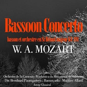 Mozart : Bassoon Concerto, K. 191