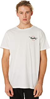 Banks Men's Around Mens Tee Cotton Polyester White