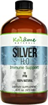 Kaiame Naturals Colloidal Silver, Ionic Silver Solution, 10 PPM, Large 16 oz Glass Bottle, Natural Immune Support Supplement, Safe for Adults, Children, and Pets