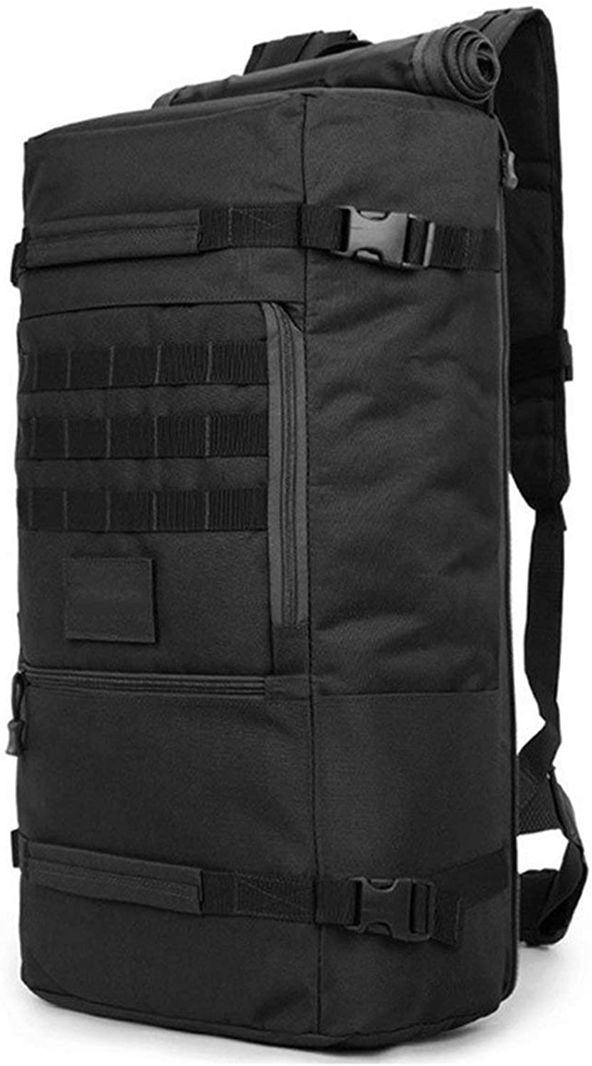 Romirofs 60L Large Capacity Outdoor Sports Backpack Multifunctional Tactical Bag Unisex Hiking Climbing Backpack Oxford Cloth Knapsack