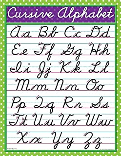 Best abc chart in cursive Reviews