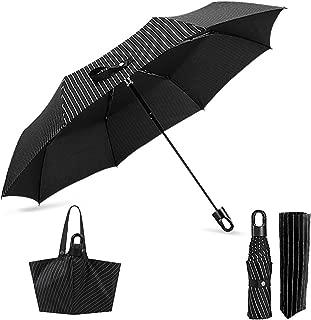 Portable Travel Umbrella, Handbag Style Compact Umbrella Windproof