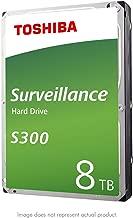 """Toshiba S300 8TB Surveillance 3.5"""" Internal Hard Drive – SATA 6 Gb/s 7200 RPM 256MB Cache (HDWT380UZSVAR)"""