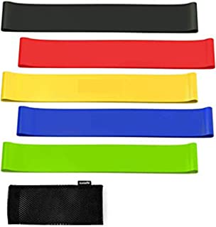 Resistance Bands Exercise Bands, Fabric Workout Bands, Non-Slip Booty Bands Resistance Bands for Legs and Butt, Heavy Resi...