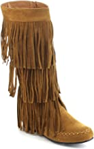 Best womens fringe moccasin boots Reviews