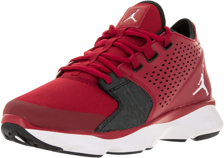 Nike Jordan Men's Jordan Flow Gym Red White Black Anthracite Training shoes 9.5 Men US