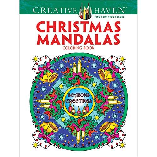 Dover Publications-Creative Haven Navidad Mandalas, Otros, Multicolor