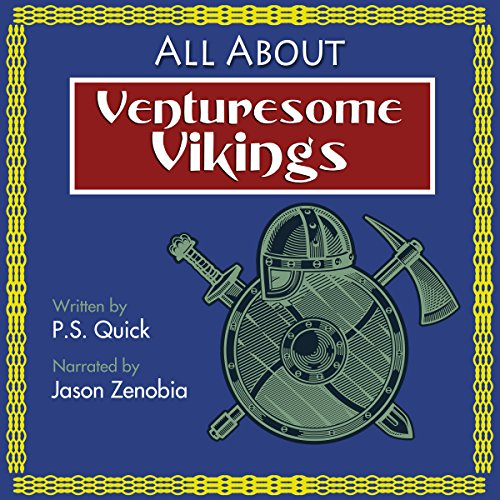 All About Venturesome Vikings audiobook cover art