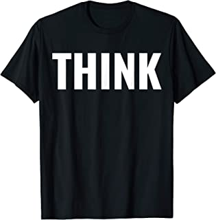 The Big Think - Best Typography T-Shirt