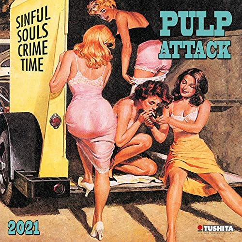 Pulp Attack 2021: Kalender 2021 (Media Illustration)