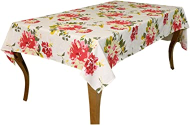 Bilberry Furnishing By Preeti Grover Rectangular Table Cover Tablecloth for 6 to 8 Seater Dinning(7.5 Feet Long,Multicolor-1p